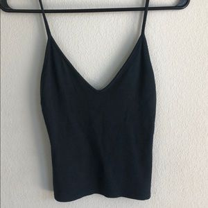 Brandy Melville dark forest green tank